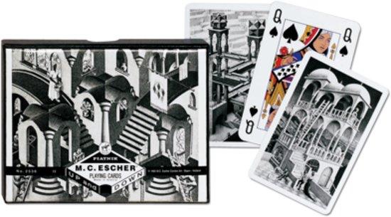 Afbeelding van het spel M.C. Escher Speelkaarten (2 decks)