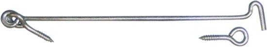 Qlinq Windhaak - RVS - 160 mm