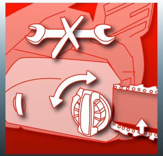Einhell GH-EC 2040 Elektrische Kettingzaag - 2000 W - Zwaardlengte: 40.6 cm - OREGON zwaard & ketting