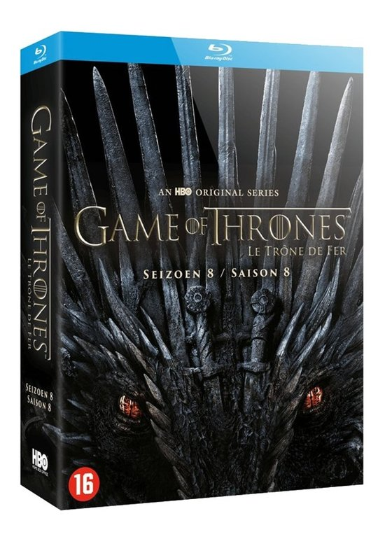 DVD cover van Game of Thrones - Seizoen 8 (Blu-ray) (Limited Edition)