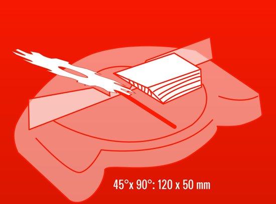 Einhell TC-MS 2513 T Kap- en verstekzaag met boventafel (Afkortzaag / Trekzaag) - 1800 W - Zaagblad: Ø250 x Ø30 x 2,8 mm / 36 T - Aansluiting voor stofafzuiging: Ø 35 mm