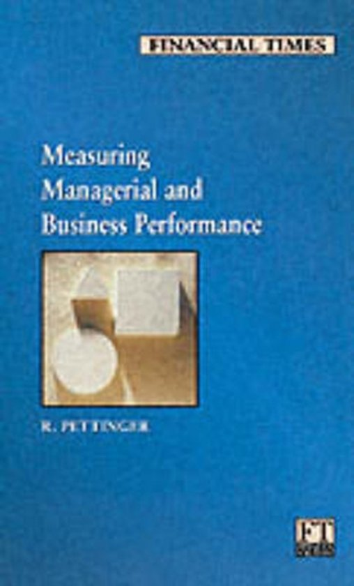 Measuring Managerial and Business Performance