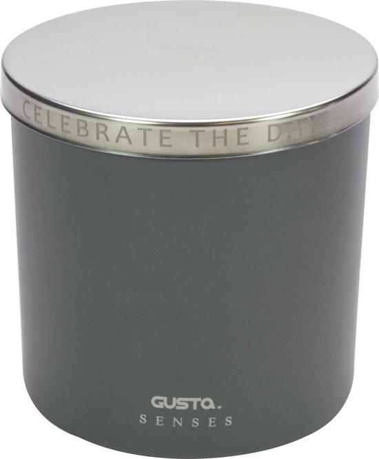 Gusta Senses geurkaars ø10xH10cm Lotus&Patchouli
