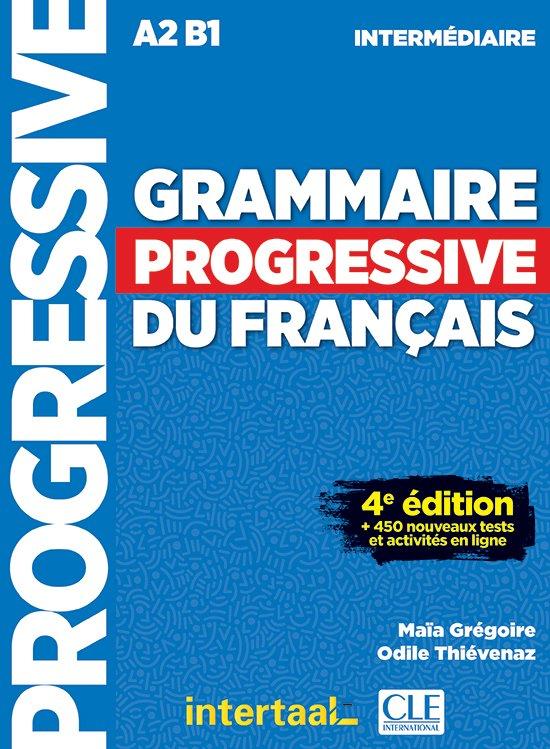 Afbeelding van Grammaire progressive du français- niveau intermédiaire livre + CD audio + appli