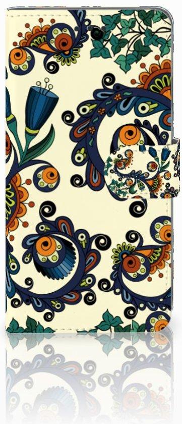 iPhone Xs Max Boekhoesje Design Barok Flower