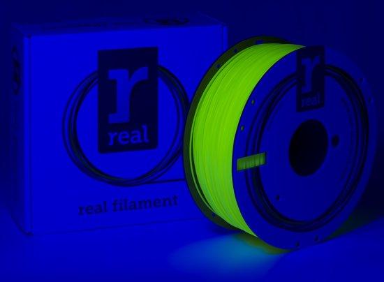 REAL Filament PLA fluoriserend geel 1.75mm (1kg)