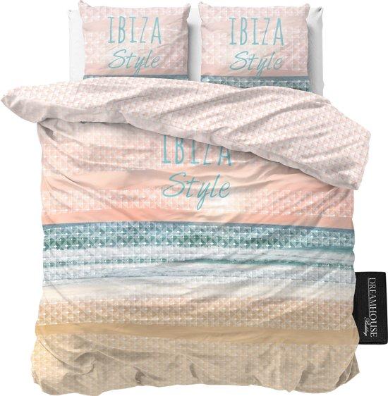 Dreamhouse Bedding Ibiza Style - Dekbedovertrekset - Extra Groot - 260x200/260 + 2 kussenslopen 60x70 - Multi