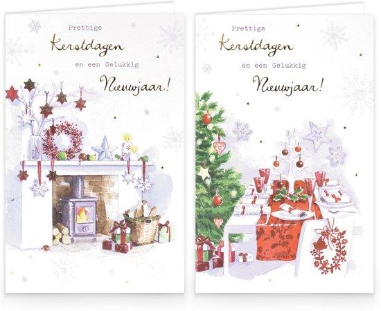 Bol Com Hallmark Kerstkaarten Kerstdagen En Nieuwjaar