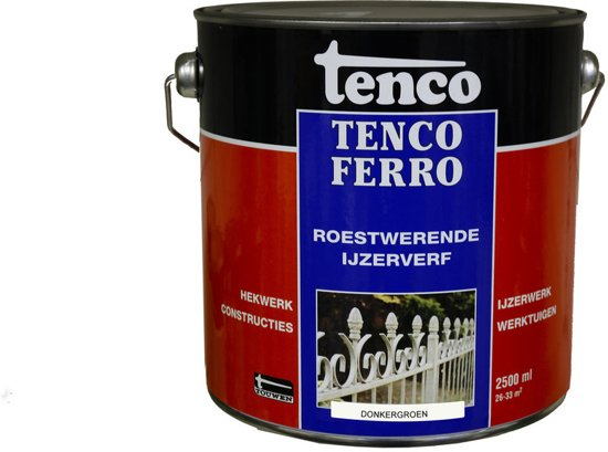 Tenco 408 Tencoferro Roestwerende IJzerverf - 2500 ml