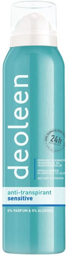 Deoleen Sensitive Satin - 150 ml - Deodorant
