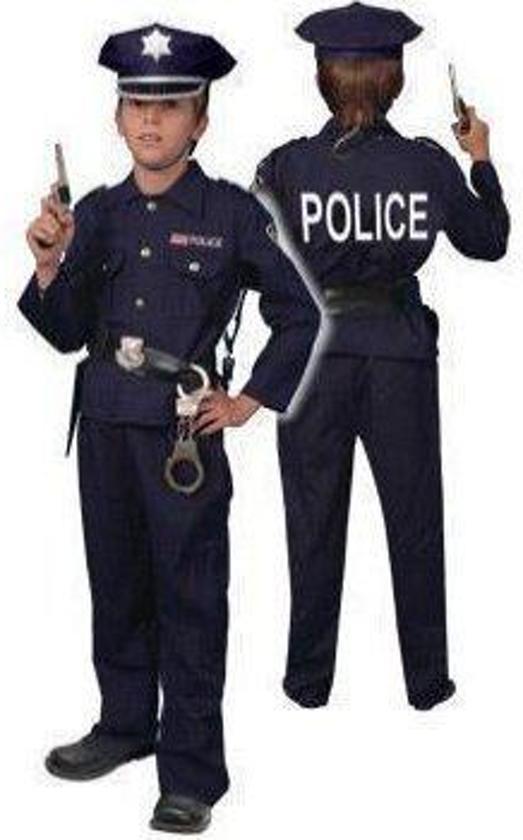 Politie uniform - Kostuum - Maat 128