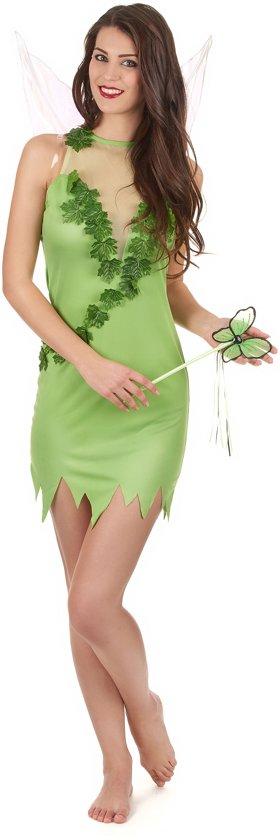 Fee Kostuum Dames.Magische Groene Fee Kostuum Voor Vrouwen Verkleedkleding Xs