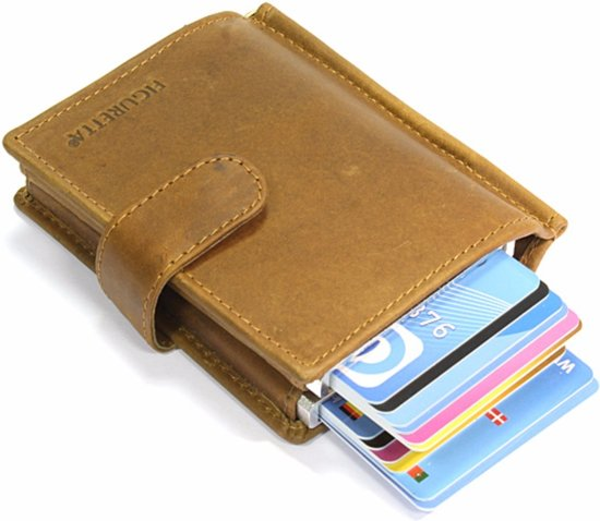 0411df3cb89 bol.com | Figuretta Card Protector RFID - Creditcardhouder - Leer ...