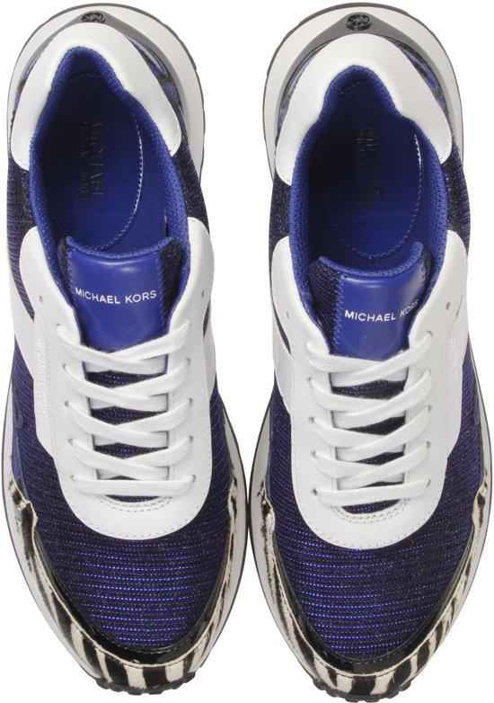 Michael Kors Vrouwen Sneakers - Monroe Pony Blauw