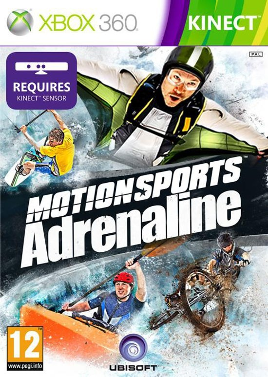 Motionsports Adrenaline - Xbox 360 Kinect