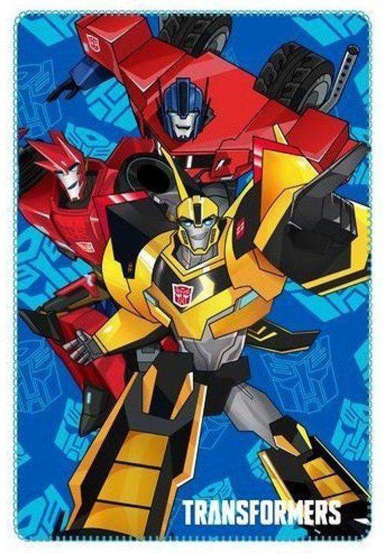 Transformers Fleecedeken, 100 x 150 cm.