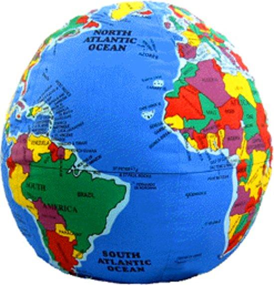 bol   hugg-a-planet - wereldbol kussen, merkloos   speelgoed