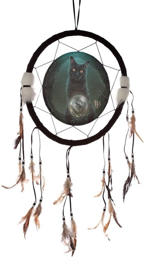 Dromenvanger kat 33cm Lisa Parker - Rise of the witches cat-