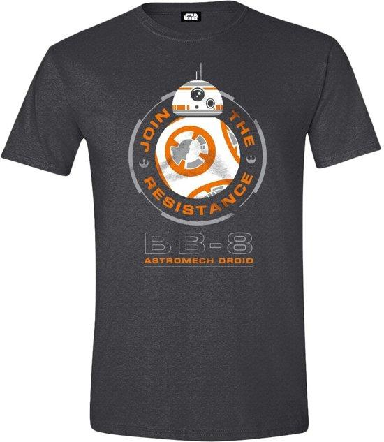 Star Wars VII - BB-8 Astromech Droid Mannen T-Shirt - Grijs - XL kopen