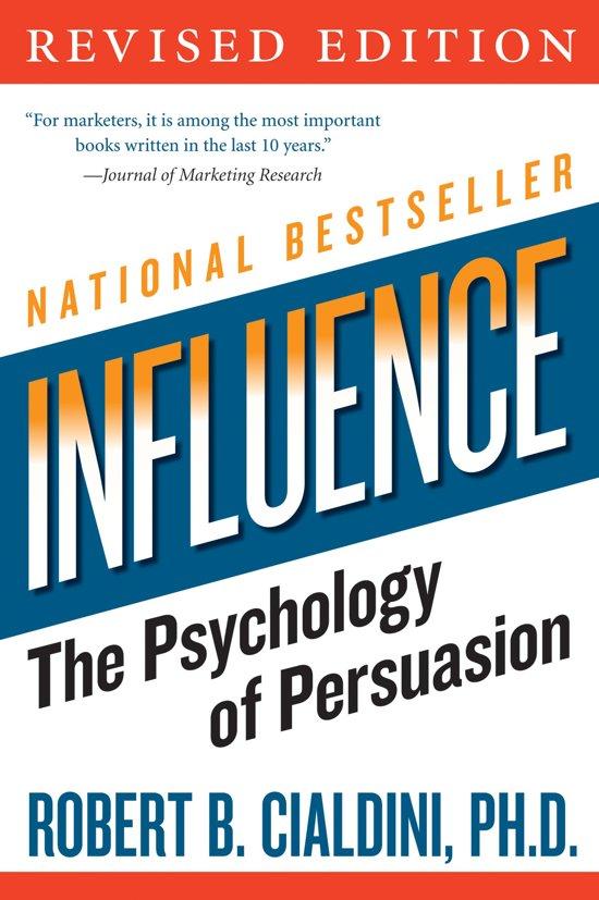 Boek cover Influence van Robert Cialdini (Onbekend)