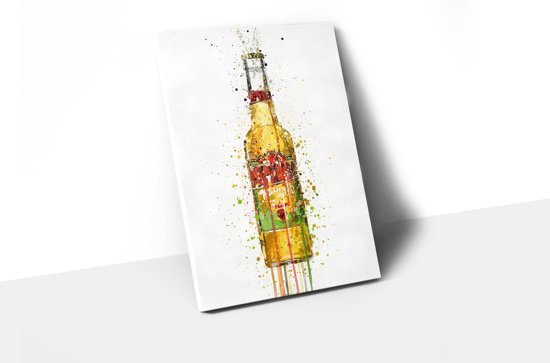Canvas Fles Desperado A3