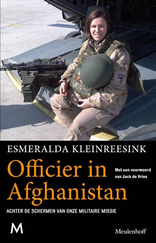 Officier in Afghanistan