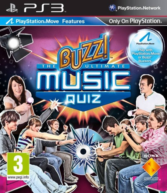 Buzz! The Ultimate Music Quiz (Solus) /PS3
