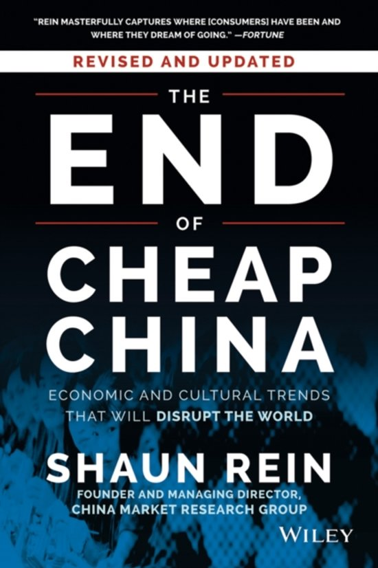 The End of Cheap China