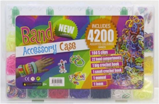 Loom Band Accessory Case 4200 bandjes