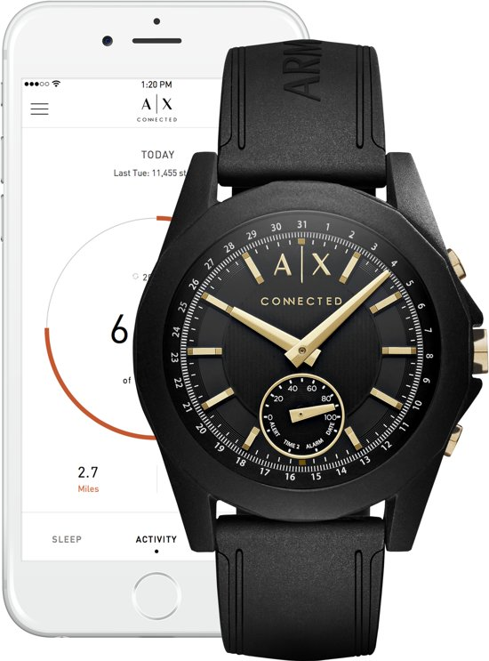 Armani Exchange Connected Hybrid Smartwatch