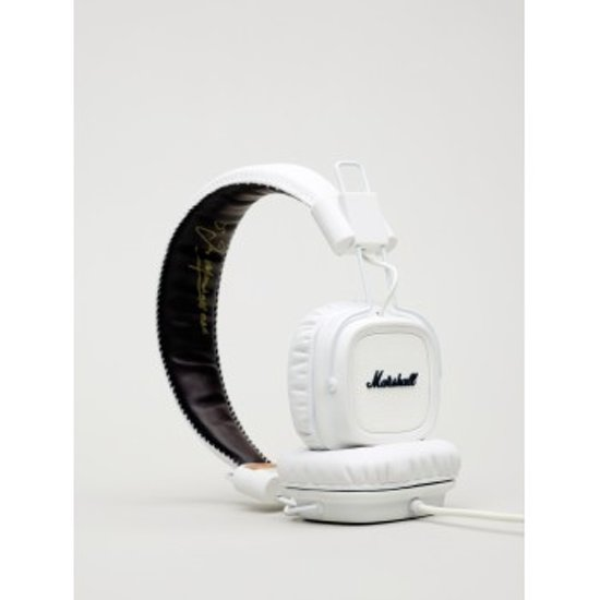 bol | marshall major - on-ear koptelefoon - white