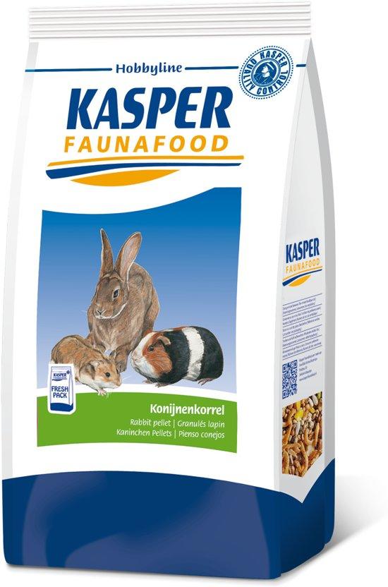 Kasper Faunafood Konijnenkorrel - Knaagdierenvoer - 4 kg