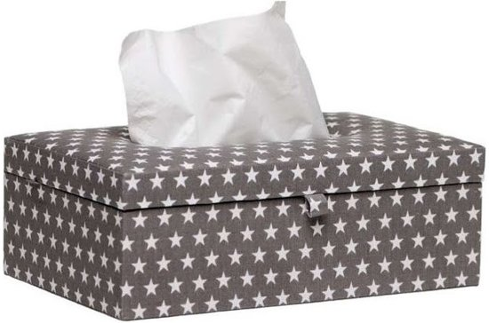 Briljant Tissue box Sam Antraciet