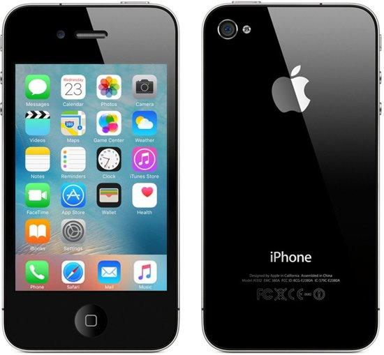apple iphone 4s refurbished door 2nd 16 gb zwart. Black Bedroom Furniture Sets. Home Design Ideas