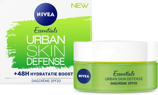 NIVEA Essentials Urban Skin Defense Dagcrème - 50 ml