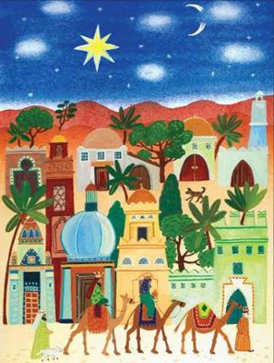 Little Town of Bethlehem Boxed Holiday Notecards