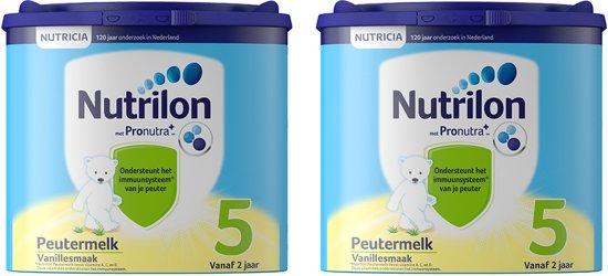Nutrilon Peutermelk 5 met Pronutra - Flesvoeding - 2 x 400 gram