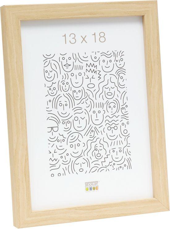 Deknudt Frames Fotokader S43AH1 - smal naturel hout - Foto: 9x13 cm