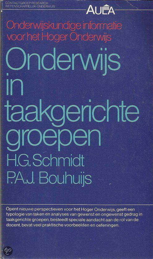 Onderwijs in taakgerichte groepen - H.G. Schmidt pdf epub