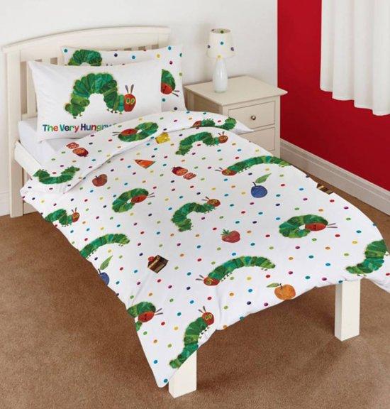 rupsje nooitgenoeg peuter dekbedovertrek 120 x 150 cm. Black Bedroom Furniture Sets. Home Design Ideas