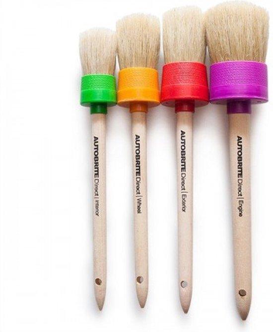 Foto van AutoBrite Detailing Brush set