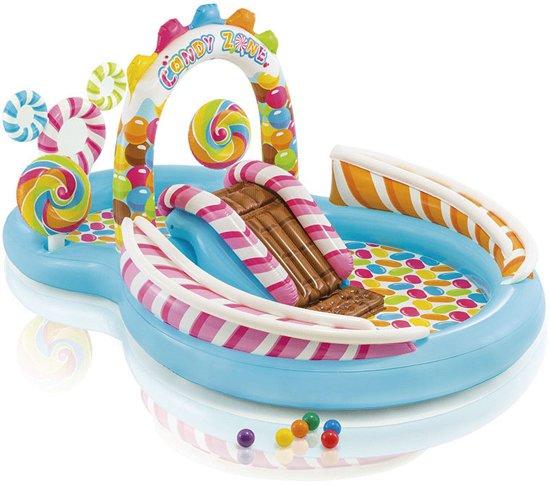 Intex Kinderzwembad Speelzwembad Snoepland 295 X 191 X 130 Cm