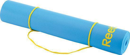 Reebok Color Line - Fitnessmat - 173 cm x 61 cm x 0,4 cm - Blauw