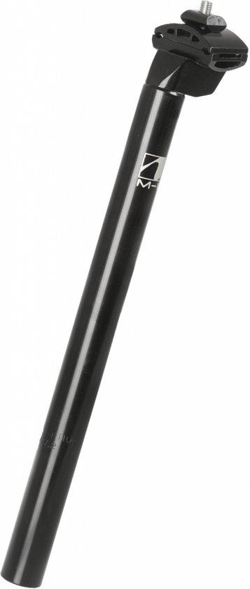 M-wave Zadelpen Vast 25,4 X 350 Mm Aluminium Zwart