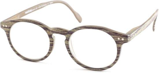 Leesbril Readloop Tradition 2601-01 grijs/groen +3.00