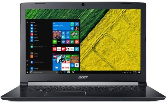 A517-51GP-88WT - GeForce MX150, 12 GB RAM, 256 GB SSD, 1 TB HDD, 17.3 inch