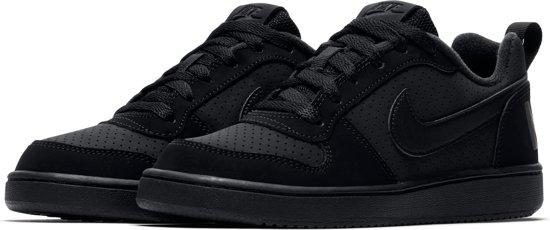 Nike Court Borough Low Bg Jongens Sneakers BlackBlack Black Maat 37.5