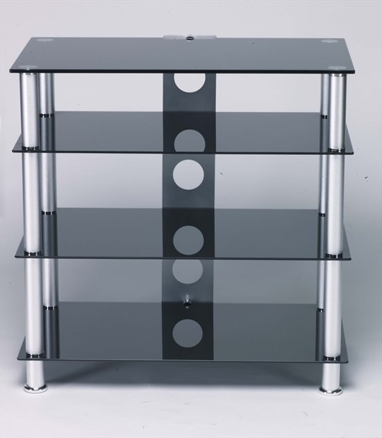 Design Tv Meubel Glas.Bol Com L C Design Tv Meubel Zwart Glas