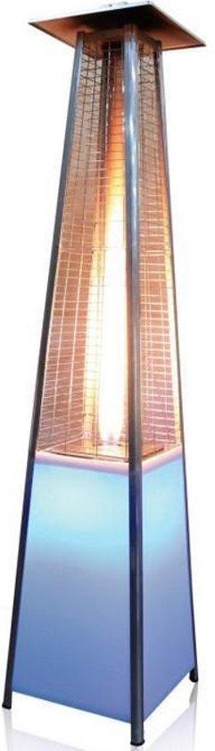 bol.com   JustFire Piramide Heater Gas - LED verlichting - Wit ...