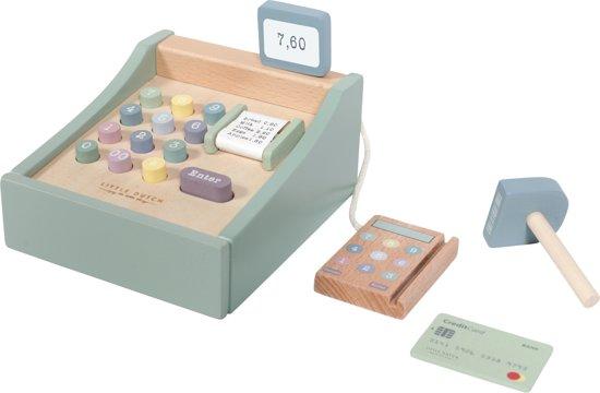 Afbeelding van Little Dutch Houten Speelgoed Kassa speelgoed